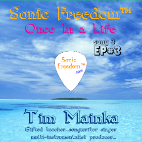Sonic Freedom EP#3 CD Cover